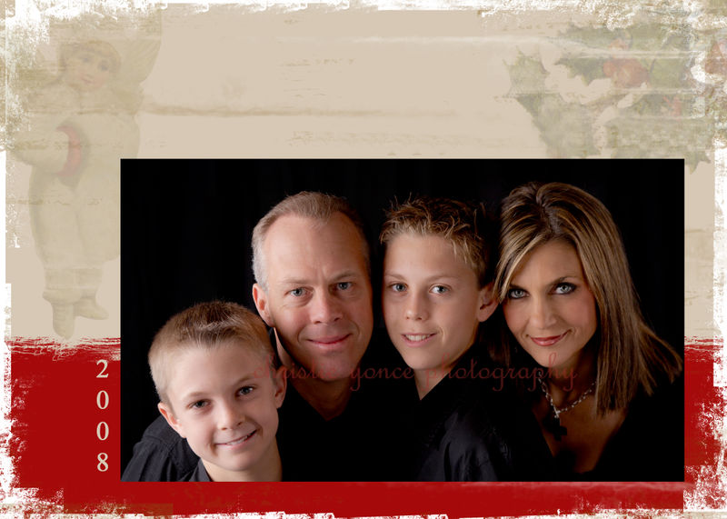 Isakson christmas card inside BLOG #2